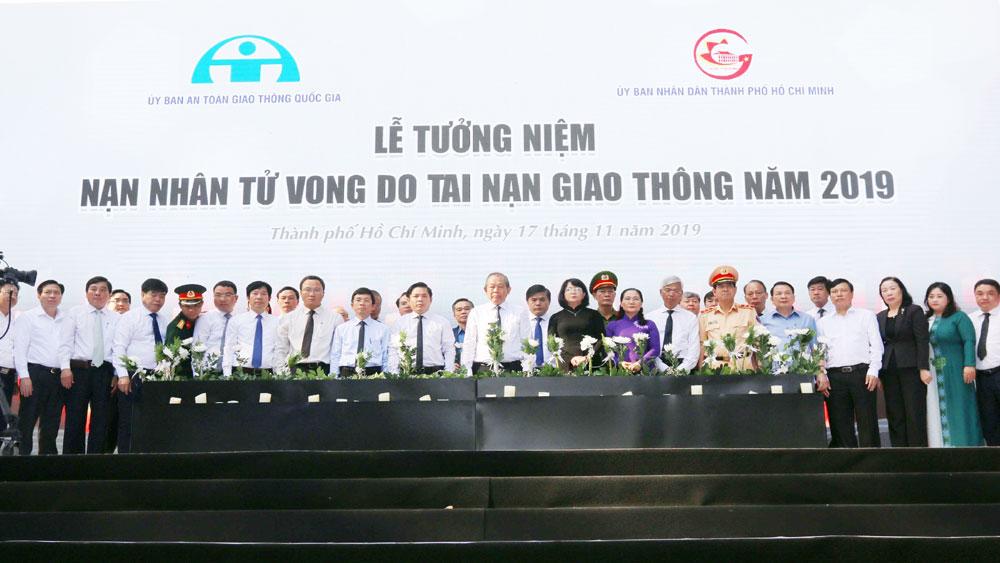 Tưởng niệm, nạn nhân tử vong, tai nạn giao thông tại Việt Nam, năm 2019