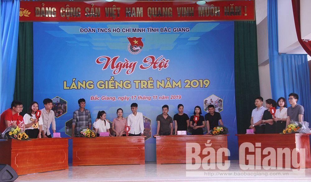 Bắc Giang, Tỉnh đoàn, ngày hội láng giềng trẻ