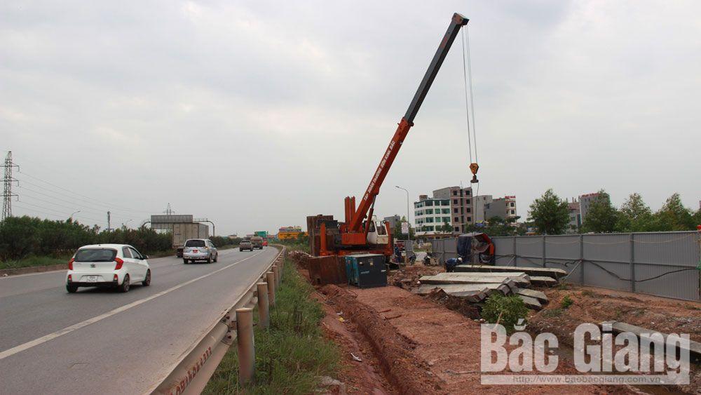 khu công nghiệp, hạ tầng giao thông, Bắc Giang, công nhân, đường cao tốc