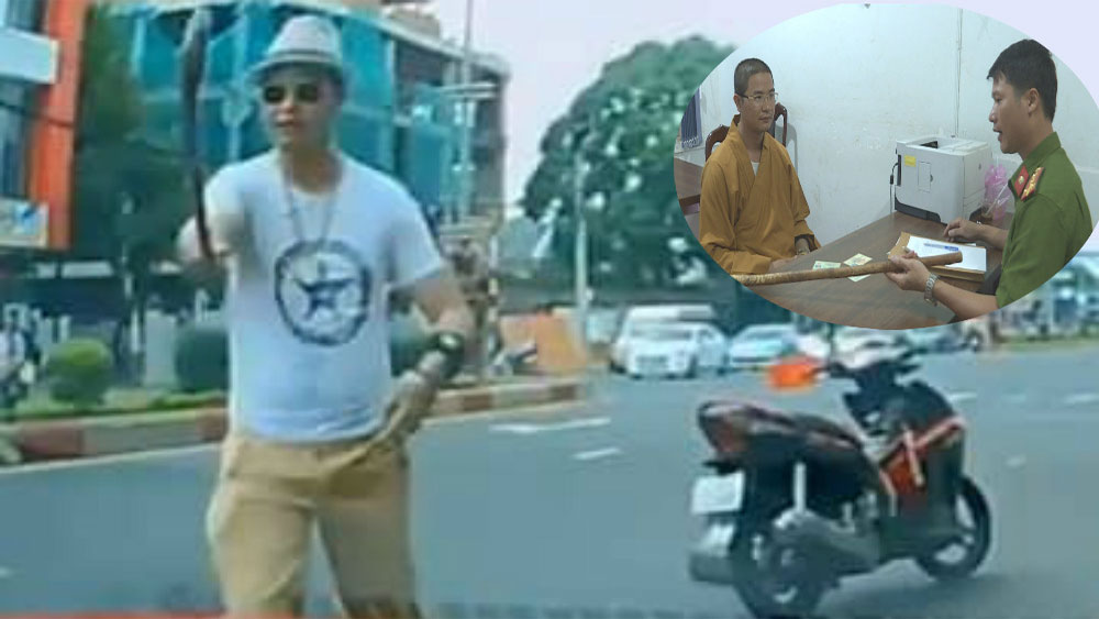Sư thầy, đập vỡ kính ô tô, không cho vượt ở Đắk Lắk, bị khởi tố, Lê Văn Thành