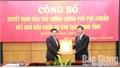 Công bố quyết định của Thủ tướng Chính phủ phê chuẩn kết quả bầu chức vụ Chủ tịch UBND tỉnh đối với đồng chí Dương Văn Thái