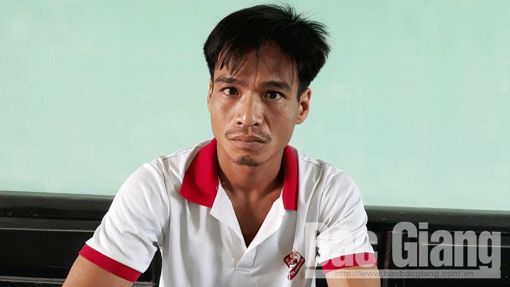 Công an huyện Việt Yên; hiếp dâm, cướp tài sản;