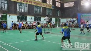 Giải cầu lông ngành giáo dục chào mừng 20-11