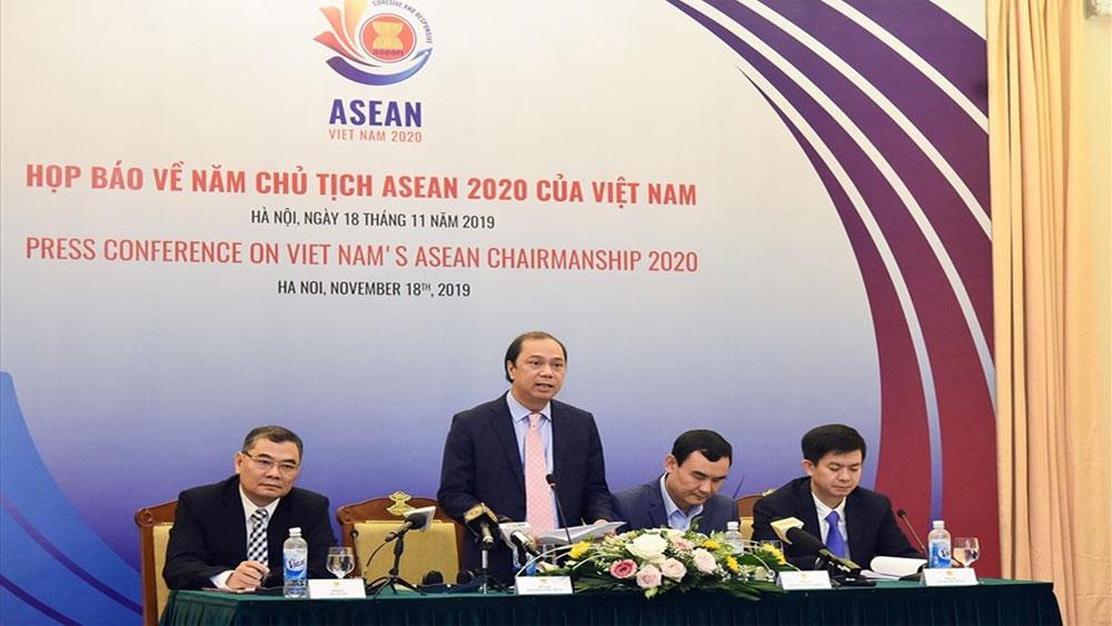Họp báo quốc tế, Năm Chủ tịch ASEAN 2020 của Việt Nam, Tổng Thư ký Ủy ban Quốc gia ASEAN 2020,