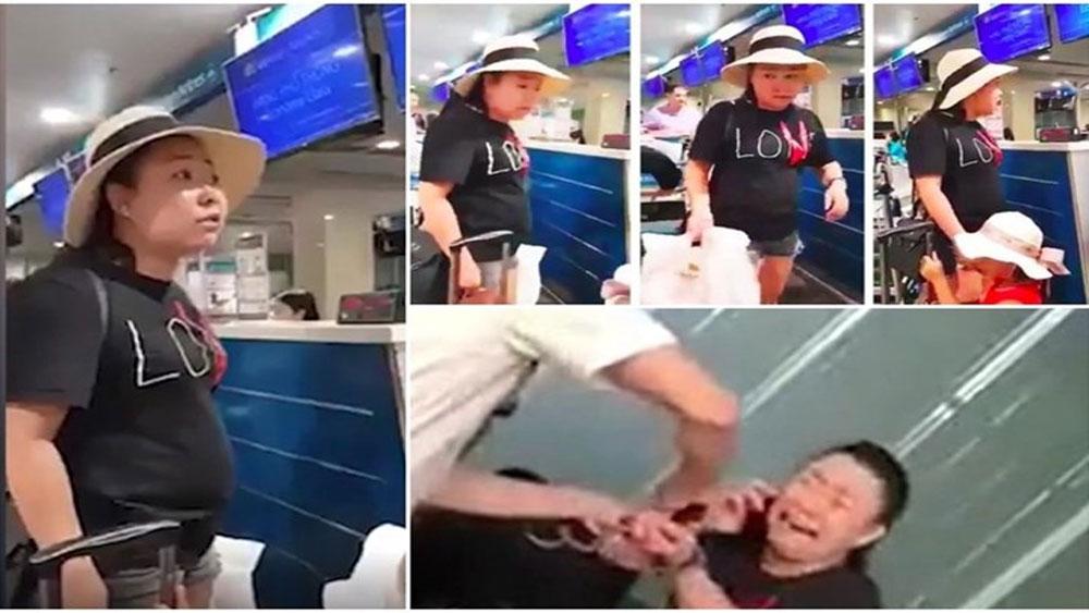 Vụ gây rối tại sân bay Tân Sơn Nhất, Quyết định xuất ngũ, Trung úy Lê Thị Hiền