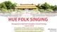 Hue folk singing