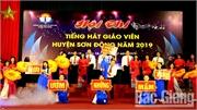 Hội thi tiếng hát giáo viên năm 2019