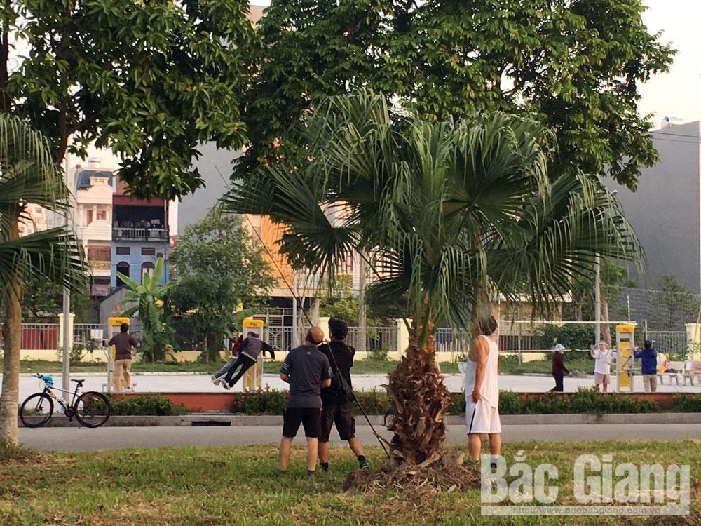 Công viên Hoàng Hoa Thám, Thành phố Bắc Giang