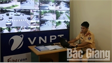 TP Bắc Giang xử phạt 'nguội' hơn 300 trường hợp vi phạm ATGT