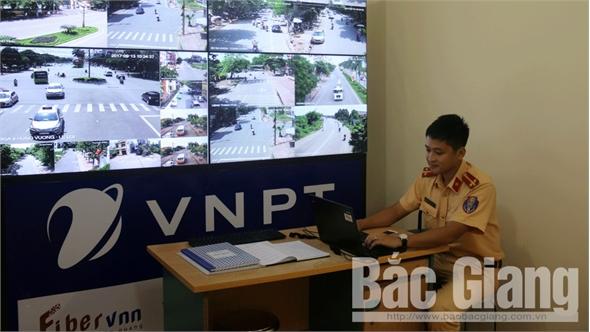 """TP Bắc Giang xử phạt """"nguội"""" hơn 300 trường hợp vi phạm ATGT"""