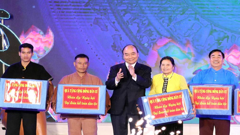Thủ tướng, dự lễ khai mạc, Tuần Đại đoàn kết các dân tộc - Di sản Văn hoá Việt Nam năm 2019