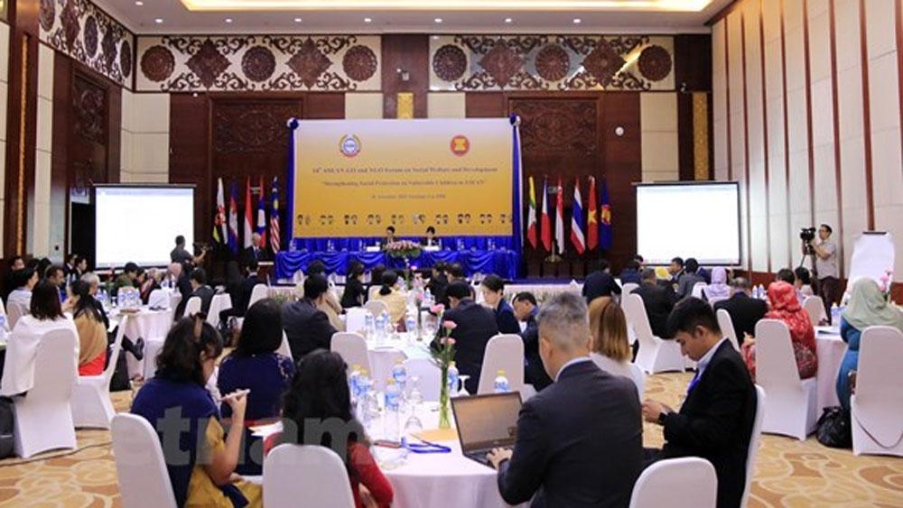 ASEAN forum, social protection, vulnerable children, Social Welfare and Development, multilateral framework