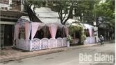 TP Bắc Giang: Người dân chấp hành quy định không dựng rạp cưới dưới lòng đường
