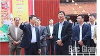 Bí thư Tỉnh ủy Bùi Văn Hải kiểm tra tiến độ triển khai Dự án Khu Du lịch tâm linh- sinh thái Tây Yên Tử