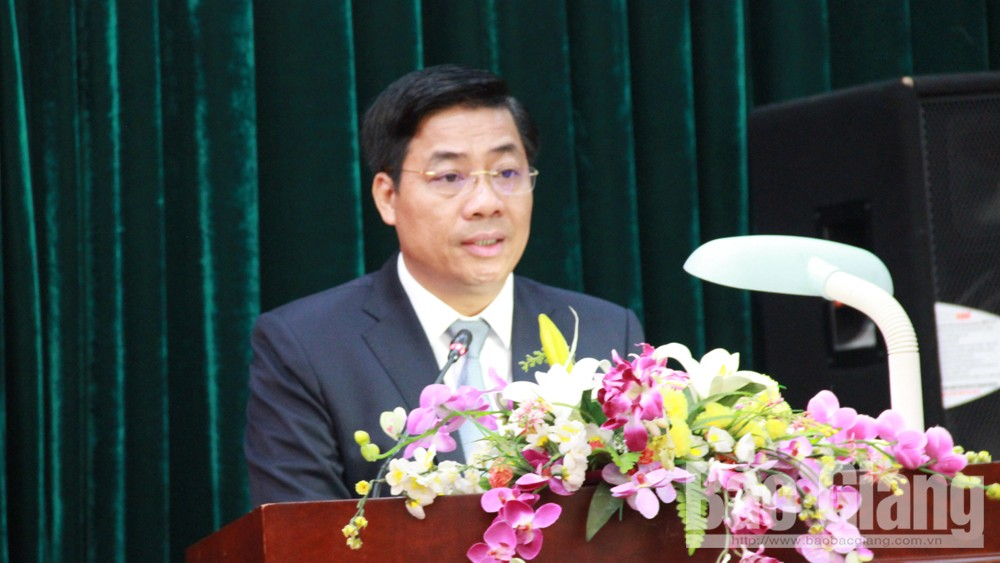 Bac Giang province, PM decision, Duong Van Thai, Chairman of provincial People's Committee, rapid and sustainable development, socio-economic development