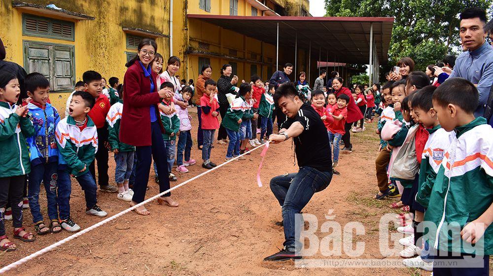 Bắc Giang, ngày hội điều em muốn nói, Trường Tiểu học thị trấn Cao Thượng