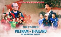 TRỰC TIẾP ĐT Việt Nam 0 - 0 Thái Lan: Tiến Linh tiếp tục đá chính