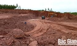 Lạng Giang: Khai thác đất trái phép trên diện tích lớn gây thất thu ngân sách