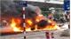 Xe sang Mercedes GLC 250 cháy rụi sau tai nạn, một người chết