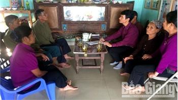 Các hộ dân thôn Tân Trung, xã Đồng Cốc không được bồi thường về đất