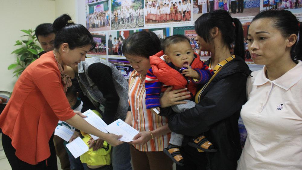 Reviving the hearts, Bac Giang province, kind-hearted units, congenital heart diseases,  irregular heartbeats, free examinations