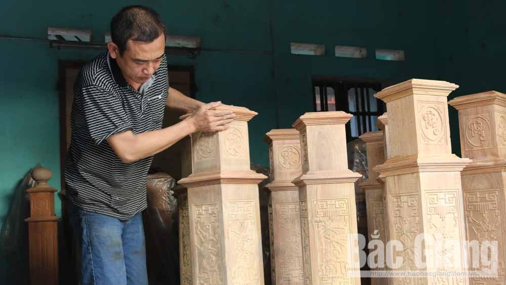 """Bắc Giang, Hỗ trợ, tỷ đồng, triển khai, Chương trình """"Mỗi xã một sản phẩm"""", năm 2020, làng nghề"""
