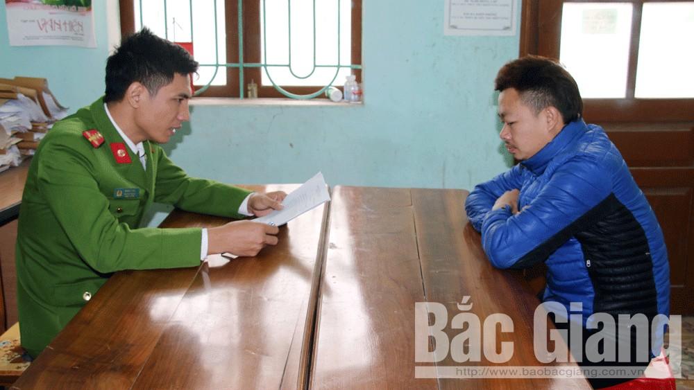 Nhân viên karaoke, Tranh giành nhân viên karaoke, Bắt giữ người trái pháp luật, Hiệp Hòa, Bắc Giang