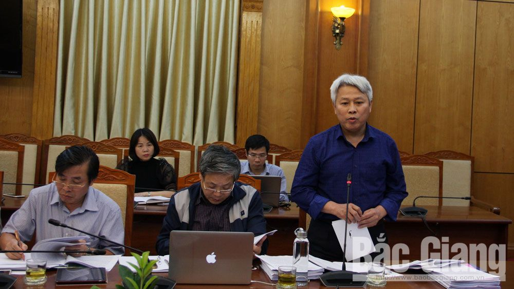HĐND, đảng đoàn HĐND, thẩm tra, kỳ họp, Bắc Giang
