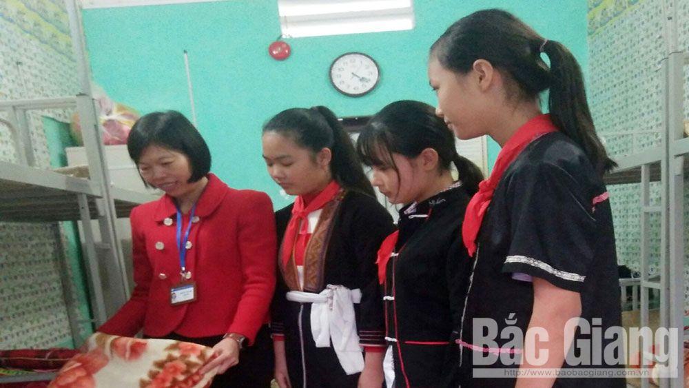 Ngôi nhà chung của học sinh  dân tộc thiểu số Lục Nam