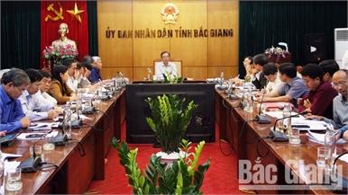 Thẩm định báo cáo KT-XH và một số nội dung trình BTV Tỉnh ủy, HĐND tỉnh Bắc Giang tại kỳ họp thứ 9