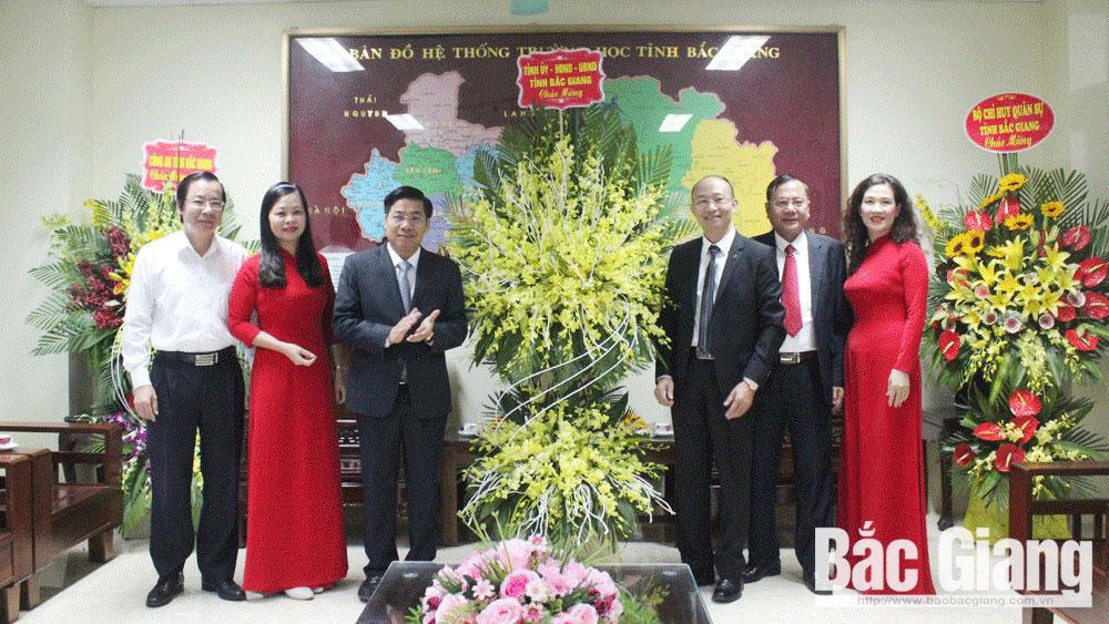 Provincial leaders,  Vietnamese Teachers' Day, Duong Van Thai, Deputy Secretary of the provincial Party Committee, ,