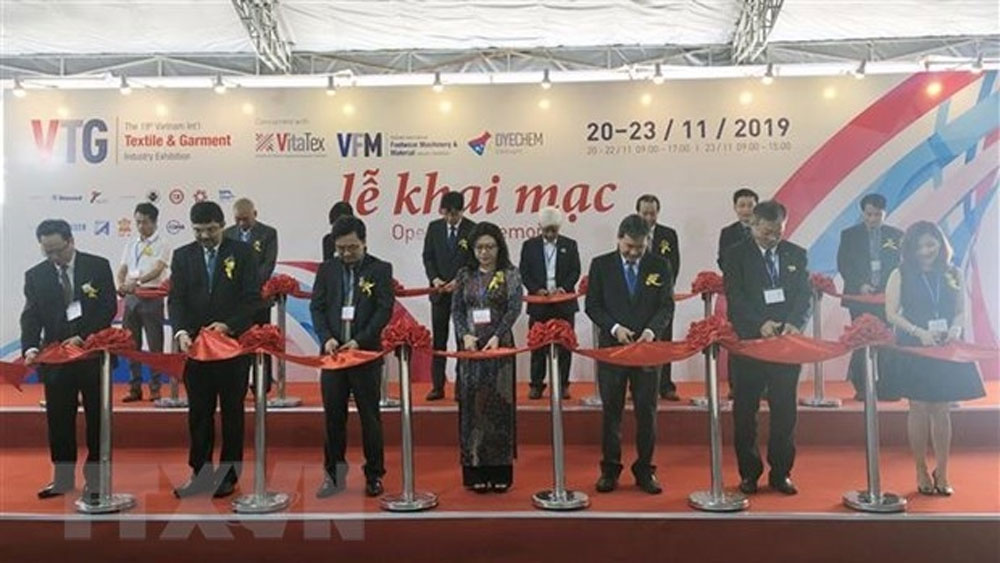 International textile, garment industry exhibitions, Ho Chi Minh City