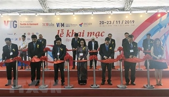 International textile and garment industry exhibitions open in Ho Chi Minh City