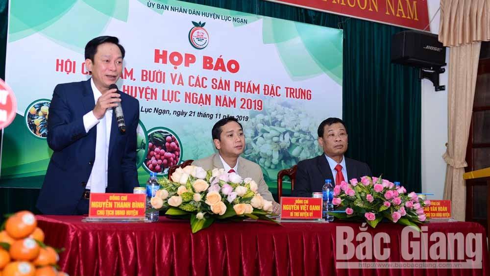 Hội chợ, cam bưởi, các sản phẩm đặc trưng, Lục Ngạn , Bắc Giang