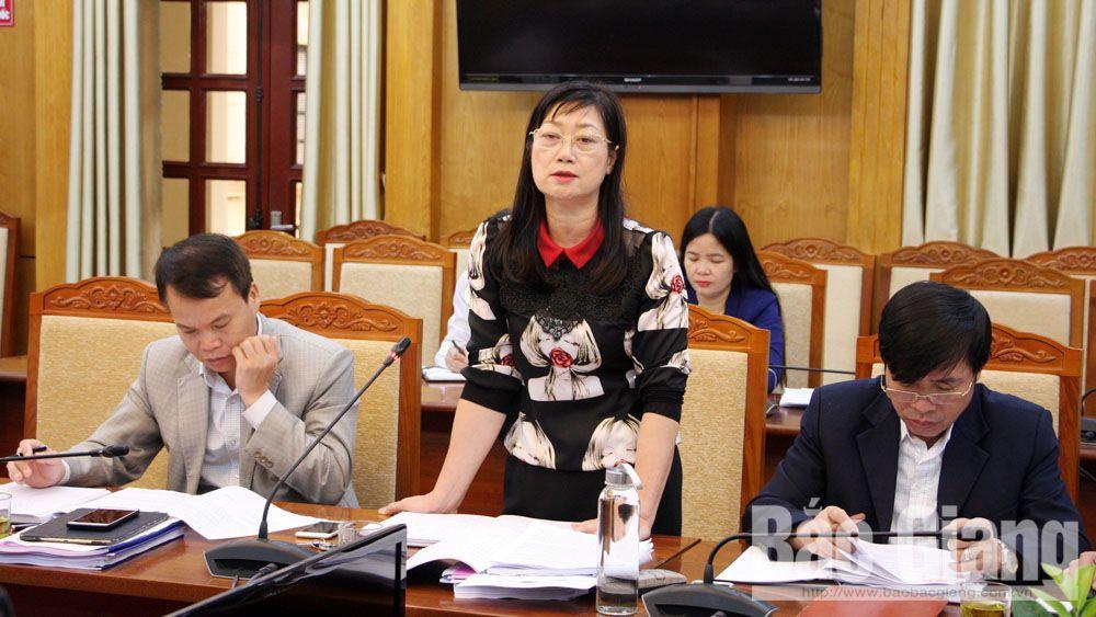 HĐND tỉnh, thẩm tra, thẩm định tờ trình, đồng chí Bùi Văn Hạnh