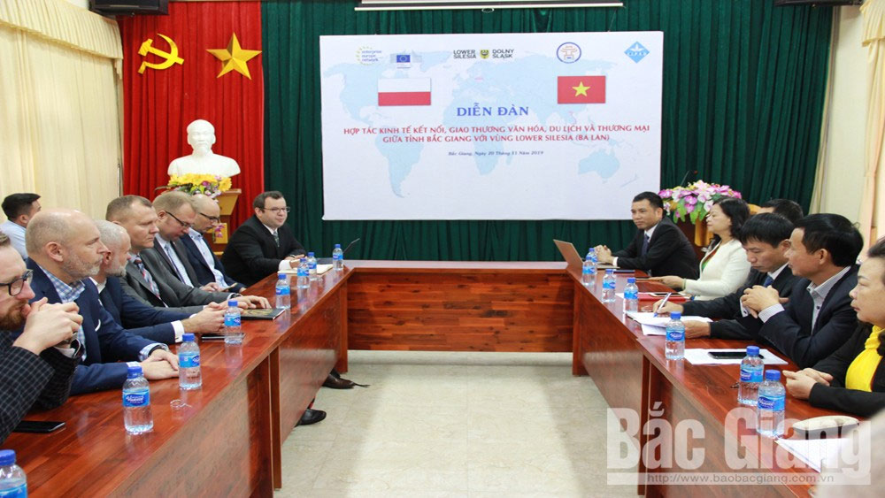 Polish enterprises seek for cooperative opportunities in Bac Giang