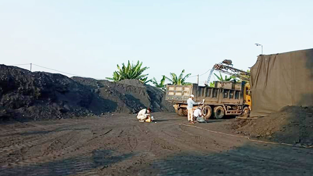 ô nhiễm môi trường, Bắc Giang, môi trường, doanh nghiệp, xả thải, than