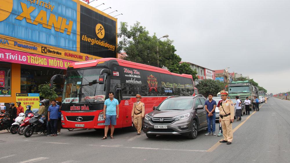 tai nạn giao thông, Bắc Giang, phương tiện giao thông