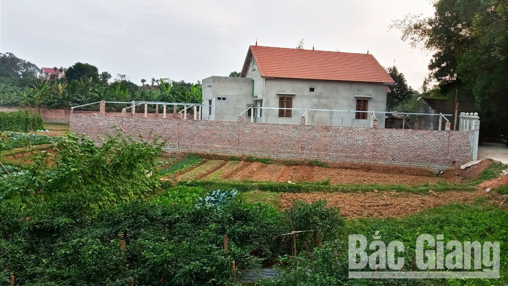 Lạng Giang, Tân Thanh, xây nhà, trái phép