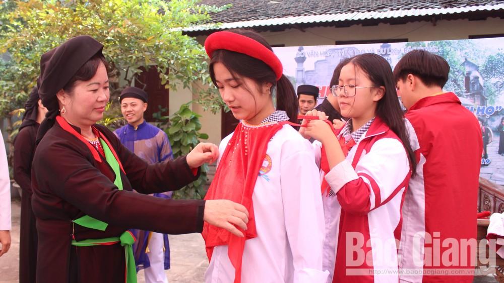 Bảo tàng tỉnh, Tìm hiểu Di sản văn hóa, Quan họ, TP Bắc Giang