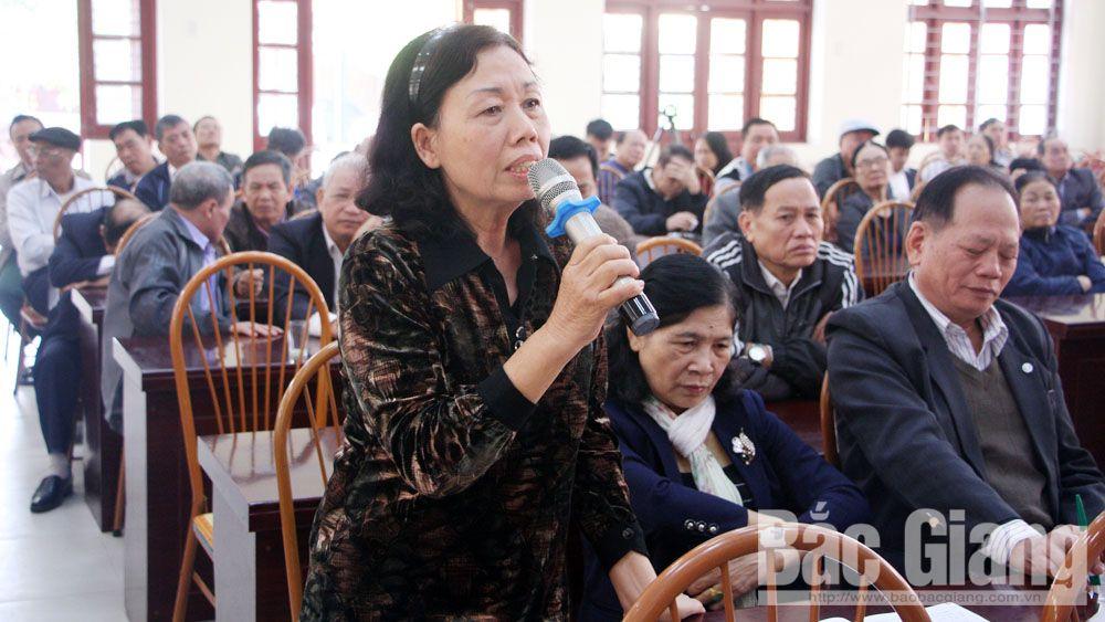 tiếp xúc cử tri, đồng chí Bùi Văn Hải, kỳ họp HĐND, TP Bắc Giang