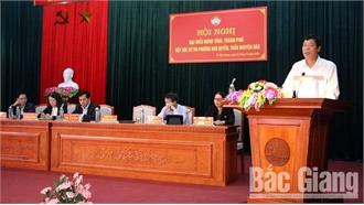 Đại biểu HĐND tỉnh tiếp xúc cử tri TP Bắc Giang: Nhiều ý kiến về bảo đảm trật tự đô thị, hoàn thiện hạ tầng giao thông