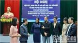 Thúc đẩy hợp tác giữa các tổ chức phi chính phủ nước ngoài với tỉnh Bắc Giang