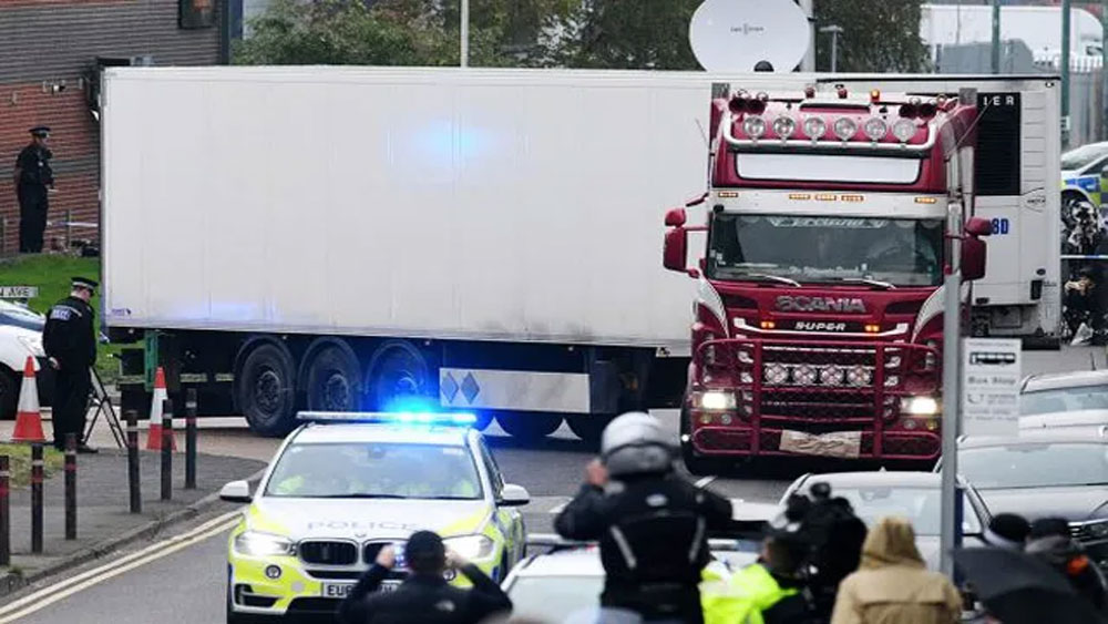 Vụ 39 thi thể trong xe tải ở Anh, Bắt giữ, đối tượng liên quan