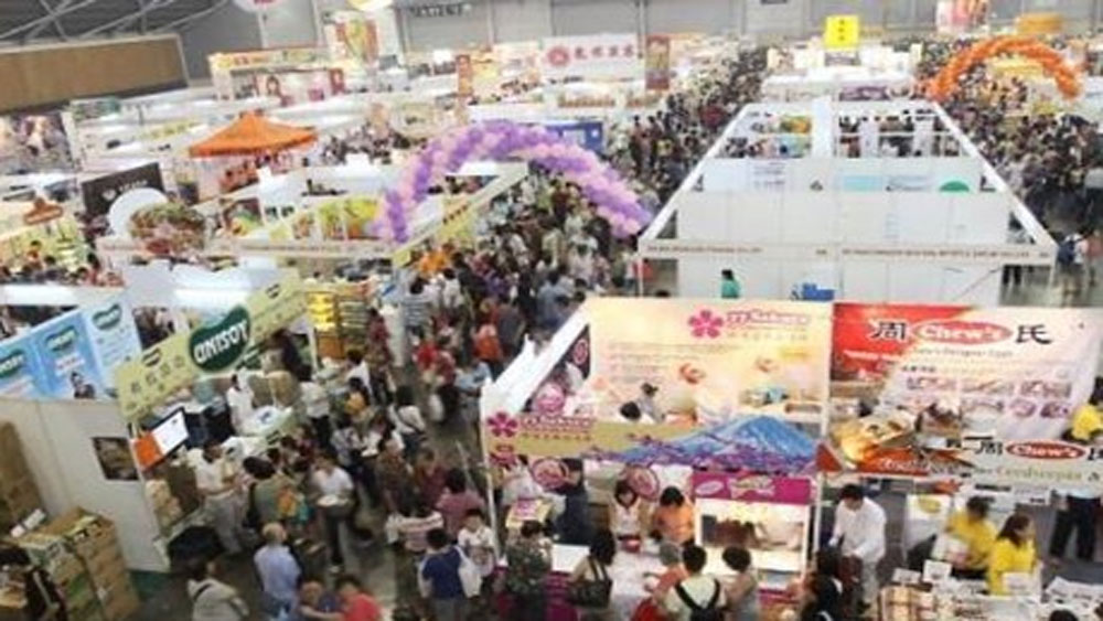 Vietnamese firms, Asia Pacific, food expo, Singapore, farm produce, Singaporean market, dairy products, organic beverages