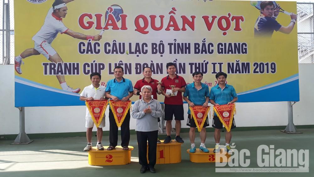 Bắc Giang : Giải quần vợt các câu lạc bộ tranh Cúp Liên đoàn lần thứ hai