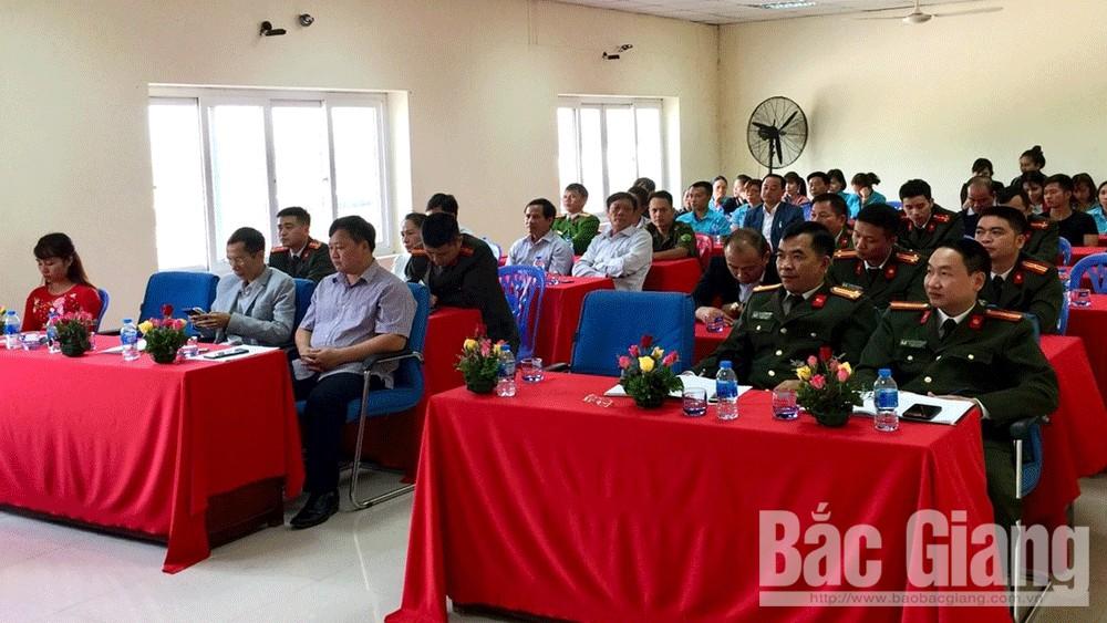 Công an huyện Yên Thế; doanh nghiệp an toàn; mô hình; an toàn về an ninh trật tự.