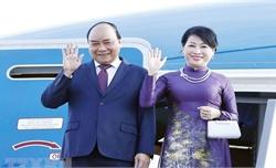 Thủ tướng Nguyễn Xuân Phúc lên đường tham dự Hội nghị cấp cao kỷ niệm 30 năm Quan hệ đối thoại ASEAN-Hàn Quốc và thăm chính thức Hàn Quốc
