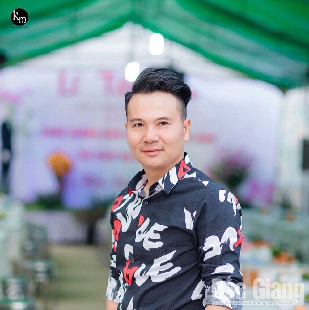 Rose Garden Film Studio, owner Le Van Duong, flowers fields, Da Mai ward, Bac Giang province, linkage model, farm production, tourism development