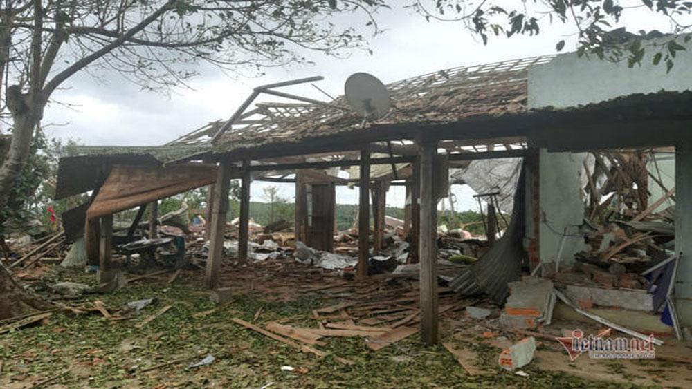 Mìn nổ bay nóc nhà, 2 người thương vong, Đắk Nông, Công ty TNHH Thạch Lợi